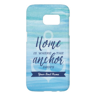 Home is Where the Anchor Drops (Personalised)