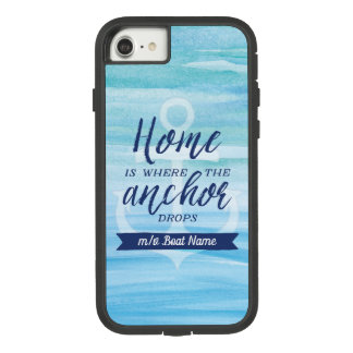 Home is Where the Anchor Drops (Personalized) Case-Mate Tough Extreme iPhone 8/7 Case