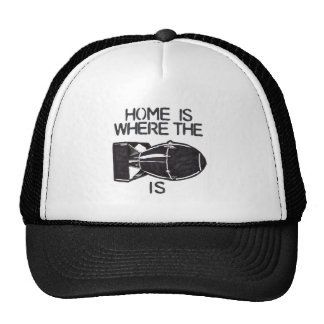 Home is Where the Bomb is Mesh Hat