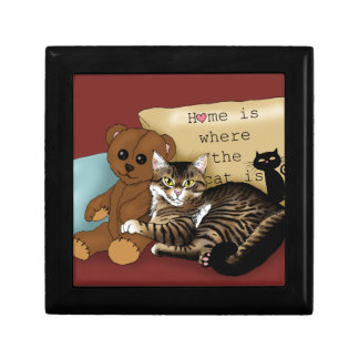 Home is Where the Cat is... Gift Box