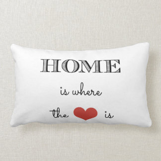Home Is Where The Heart Is Cushions