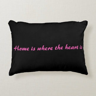 Home Is Where The Heart Is Decorative Cushion
