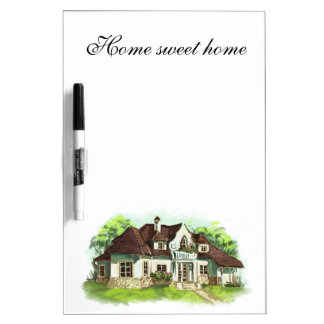 Home is where the heart is dry erase whiteboards