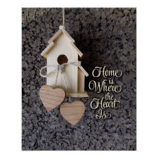 Home is where the heart Is home decor