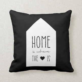 Home Is Where The Heart Is - Inspirational Pillow