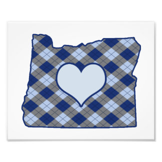 Home is Where the Heart is Oregon Photo Print