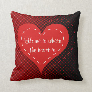 Home Is Where The Heart Is Pillows