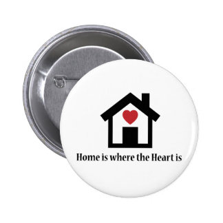 Home is where the heart is pin