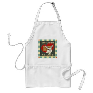Home is where the heart is standard apron