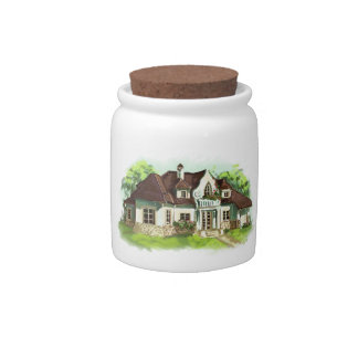Home is where the heart is candy jars