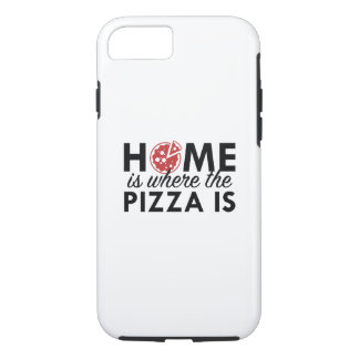 Home Is Where The Pizza Is iPhone 7 Case