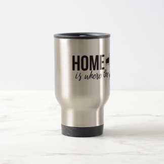 Home is Where the Pop Up is Travel Mug