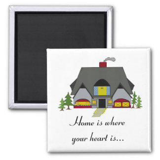 Home is Where Your Heart Is Magnets