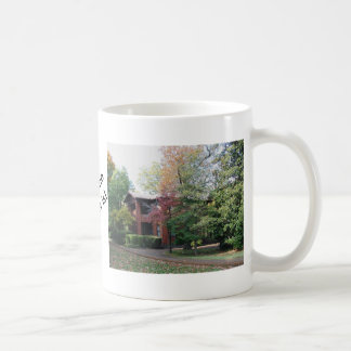 Home is where your heart is basic white mug