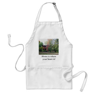Home is where your heart is standard apron