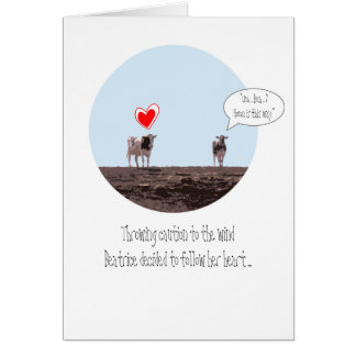 Home Is Where Your Heart Is Valentine Greeting Card