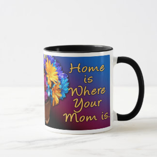 Home is Where Your Mom is, Colorful Mug