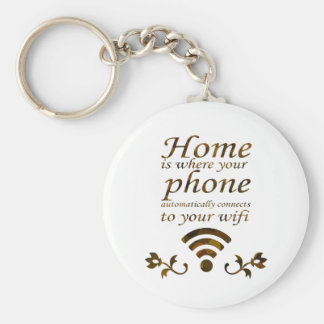 Home is where your phone automatically connects to key chains