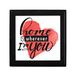 Home is Wherever | Heart Gift Box