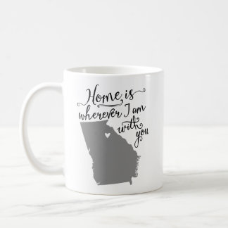 Home Is Wherever I Am With You {Athens, GA} Mugs