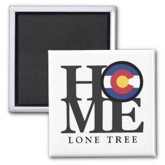 "HOME Lone Tree Colorado 4x4"" Magnet"