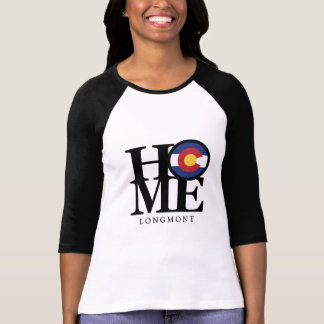 HOME Longmont Colorado Ladies Long Sleeve T-Shirt
