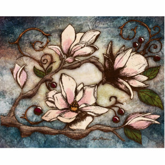 Home - Magnolia Branch I Acrylic Cut Outs