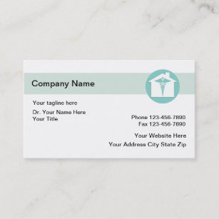 home medical business cards - Medical Business Cards
