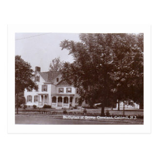 Home of Grover Cleveland, Caldwell, NJ Vintage Postcard