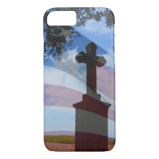 Home Of The Brave - Salute to the American Soldier iPhone 7 Case