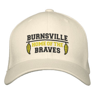 Home Of The Braves Embroidered Hats