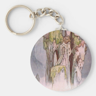 Home of the Cloud Makers Basic Round Button Key Ring