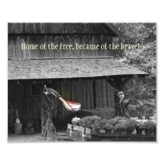 Home of the Free... Photograph