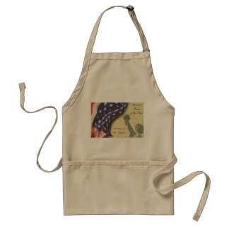 Home of the Free Standard Apron