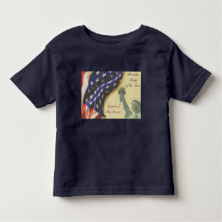 Home of the Free Toddler T-Shirt