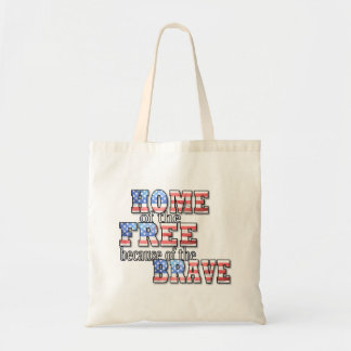 Home of the Free Tote Bag
