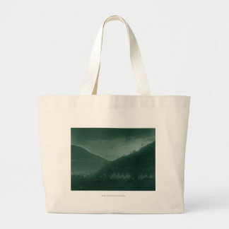 Home of the Mountain Crow Large Tote Bag