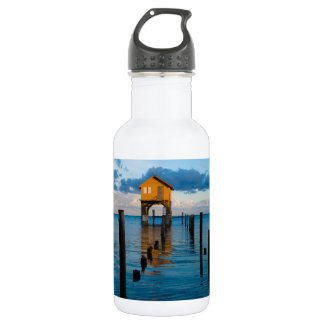Home on the Ocean in Ambergris Caye Belize 532 Ml Water Bottle