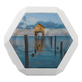 Home on the Ocean in Ambergris Caye Belize White Bluetooth Speaker