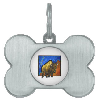 Home on the Range Pet Tag