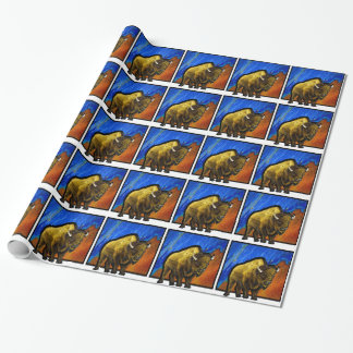 Home on the Range Wrapping Paper