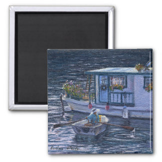 """""""Home On the Water"""" Magnet"""