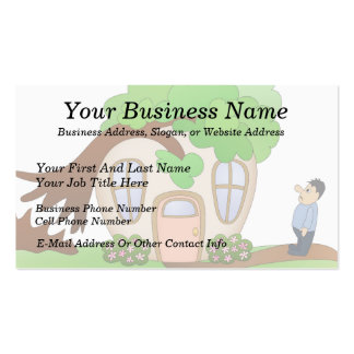 Home Owner Disaster Day Business Card Template