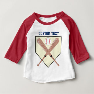 Home Plate Baby T-Shirt