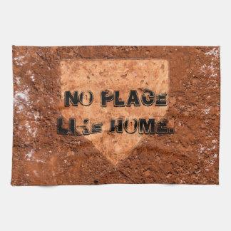 Home plate towel