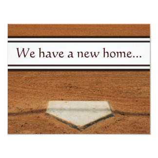 Home Plate We've Moved Address Contact Cards