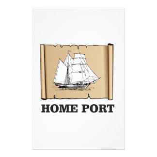 home port go stationery paper