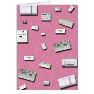 Home Pregnancy Tests Card