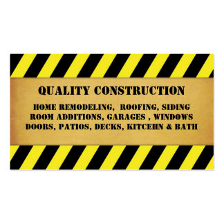 Home Remodeling Construction Business Card Templates