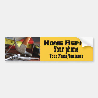 Home Repair Bumper Sticker